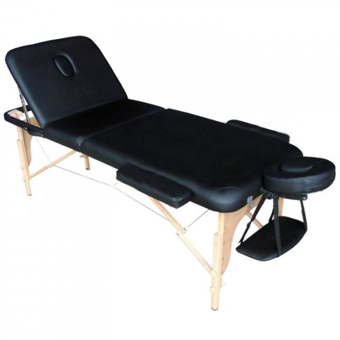 Lettino da Massaggio Nero