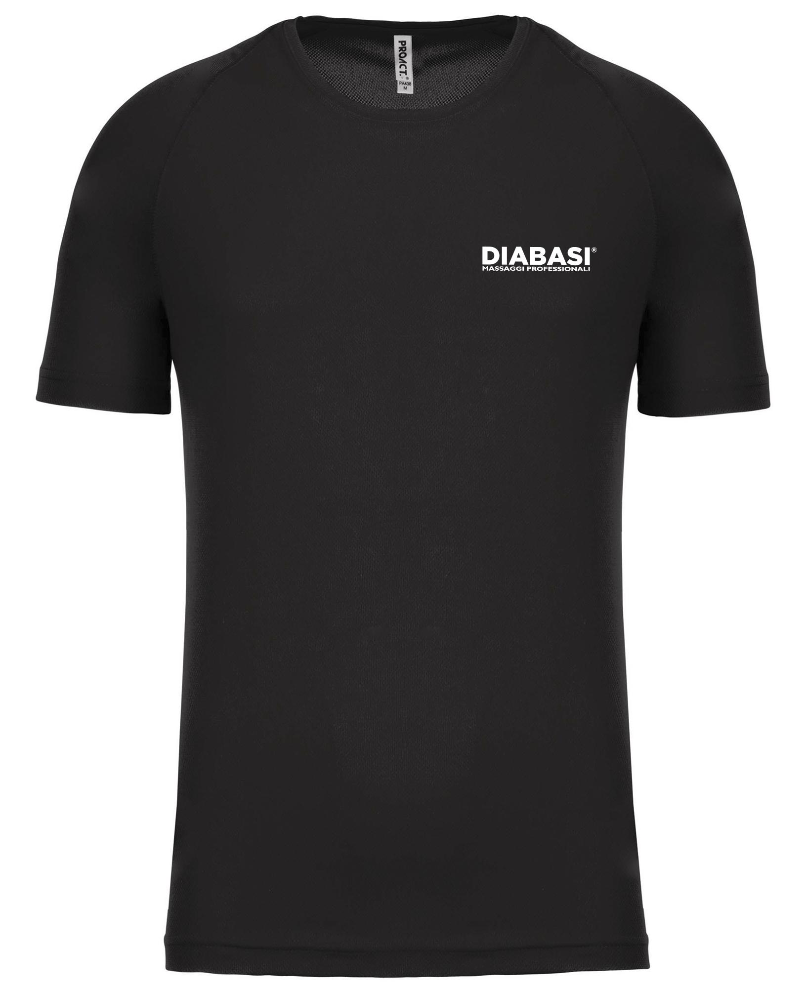 T-Shirt Nera Uomo