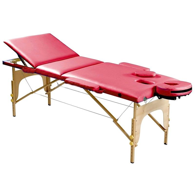 Lettino da Massaggio Rosso