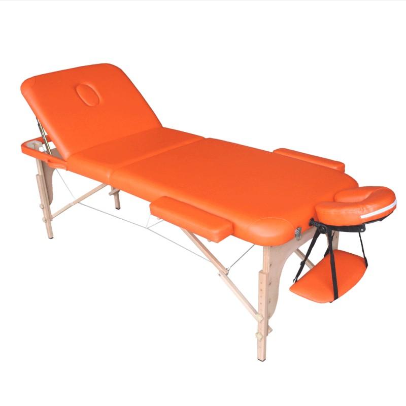 Lettino da Massaggio Arancione